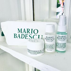 3pk Mario Badescu Skincare GLYCOLIC Foaming Cleanser Cream Spray Travel Bundle for Sale in Bartlett, IL