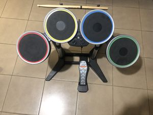 Ps3 rock band 2 drum set for Sale in South El Monte, CA