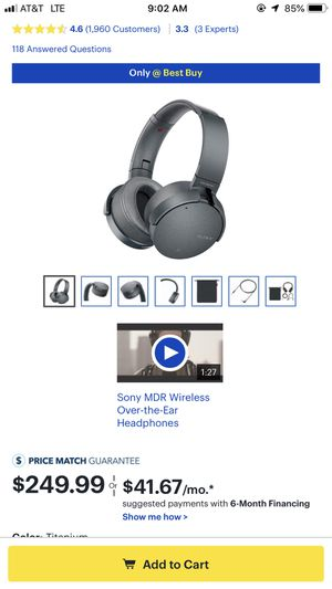Sony headphones for Sale in Oakland, CA