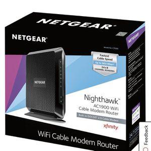 Netgear Nighthawk AC1900 WiFi Modem for Sale in Portland, OR