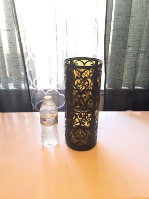 Nice 2 piece 1ft. Tall decorative vase -Turlock for Sale in Turlock, CA