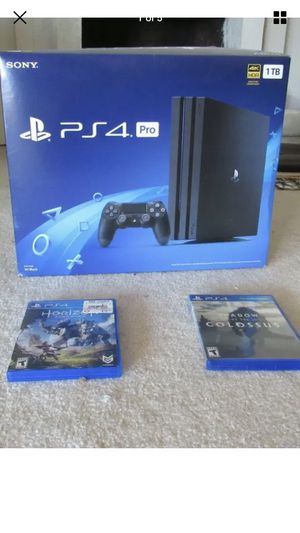 PlayStation 4 pro 1TB for Sale in Edmonds, WA