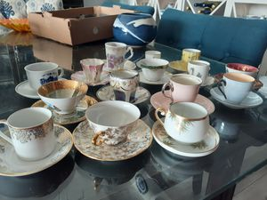 Lot of 15 Vintage Demitasse Cips & Saucers for Sale in Palm Beach Shores, FL