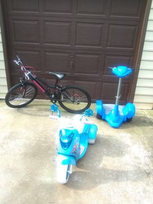 Kids Segway scooter and bike for Sale in Stone Mountain, GA