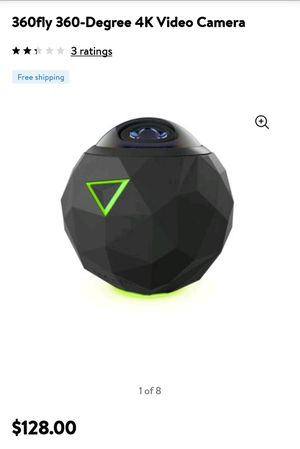 BRAND NEW! 360FLY 360- DEGREE VIDEO CAMERA for Sale in Columbia, TN