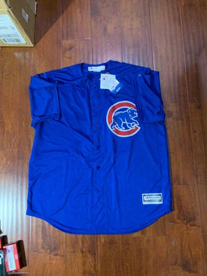 Jason Heyward #22 Chicago Cubs majestic mlb Jersey Size xL blue for Sale in Walnut, CA