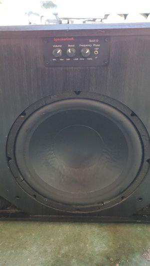 SpeakerCraft Subwoofer for Sale in Redlands, CA