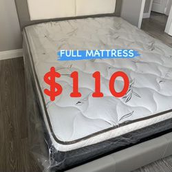 BRAND NEW PILLOW TOP MATTRESSES !! ✅ BEST DEALS 💥💥💥 ✅ ‼️ SAME DAY DELIVERY 🚛 ‼️⚠️ ✅ $20 Delivery FEE ✅ QUEEN MATTRESS $120 ❌ $180 With Box Spri for Sale in Commerce,  CA