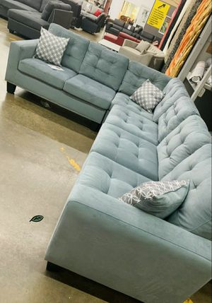 SPECIAL] Lantana Gray Reversible Sectional byHomelegance 📢🍉 for Sale in Jessup, MD