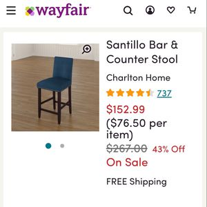 Santillo bar stool for Sale in Largo, FL