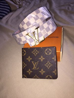 Lv belt lv wallet an fendi messenger bag for Sale in Chevy Chase, MD