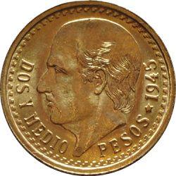 Dos Y Medio Pesos Gold Coin for Sale in Waco,  TX
