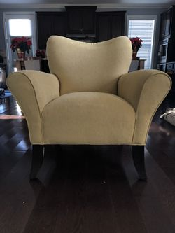 Contemporary Chamois Chair (Pebble) for Sale in Germantown,  MD