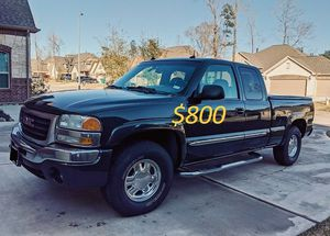 $8OO🔥 Very nice 🔥 2003 Gmc Sierra Truck Runs and drive very smooth clean title!!!! for Sale in Denver, CO