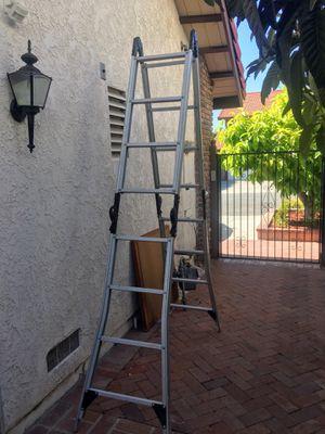 Folding ladder 16ft for Sale in La Puente, CA