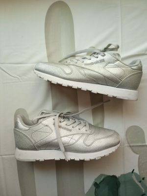 Reebok silver sparkly sneakers for Sale in Victorville, CA