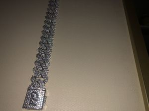 Cuban Link Chain GLD brand WHITE GOLD for Sale in Las Vegas, NV