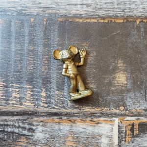 "Mickey Mouse Disney Brass Figurine 3"" Tall Rare Collectible 1970s for Sale in Las Vegas, NV"