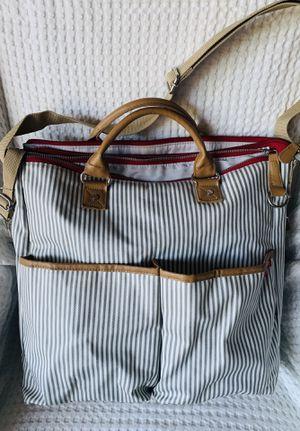 Skip Hop Messenger Diaper Bag, Duo Signature, French Stripe for Sale in Chandler, AZ