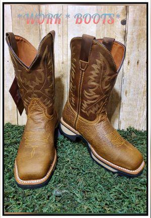 BOTAS DE TRABAJO ⛏🔨⛏WORK BOOTS for Sale in Dallas, TX