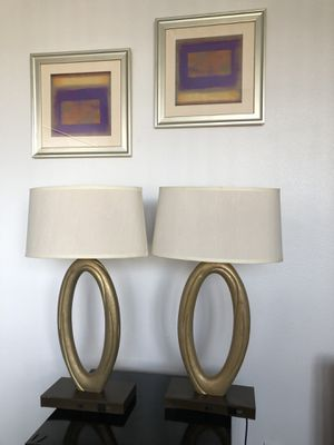 Table lamps for Sale in Las Vegas, NV