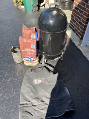 Weber Smokey Mountain Smoker for Sale in Northbrook, IL