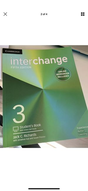 Interchange Level 3 Workbook 5th Edition Cambridge for Sale in West Covina, CA