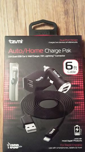 Tzumi auto/home charge pak for Sale in Laurel, MD