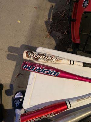 """Worth"" T-ball/softball bats for Sale in Long Beach, CA"