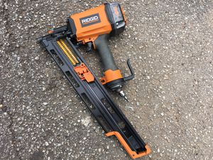Ridgid Round Head Framing Nail Gun for Sale in Houston, TX