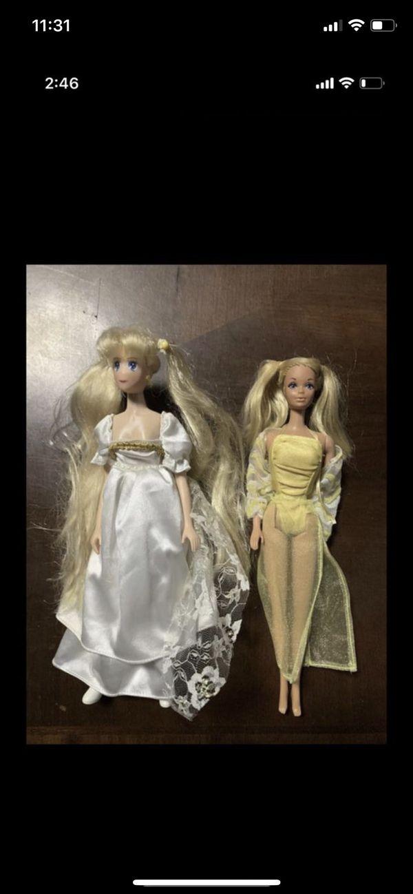 1966 Barbie Doll, 1995 Sailor Moon Doll