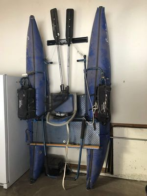 Pontoon boat for fishing! Excellent shape! for Sale in Colorado Springs, CO