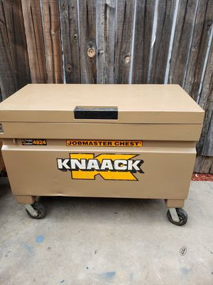 Knaack box work box 48x24 caja tool box jobmaster chest for Sale in Downey, CA