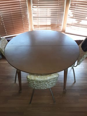 Wood kitchen table for Sale in Sioux Falls, SD