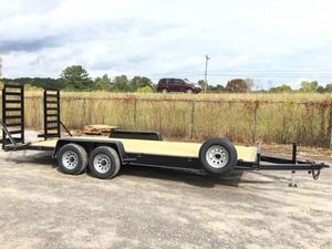New 7x20 Premium Built Equipment Trailer for Sale in LaFayette, GA