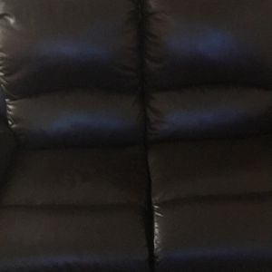 Couch With Recliner for Sale in Long Beach, CA
