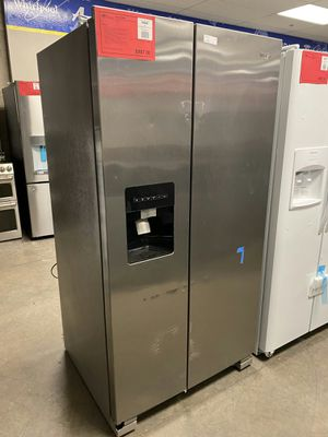 New! Whirlpool 24 CuFt Side by Side Refrigerator!1 Year Manufacturer Warranty Included for Sale in Gilbert, AZ