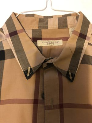 Burberry Casual Shirt size Medium for Sale in Raleigh, NC