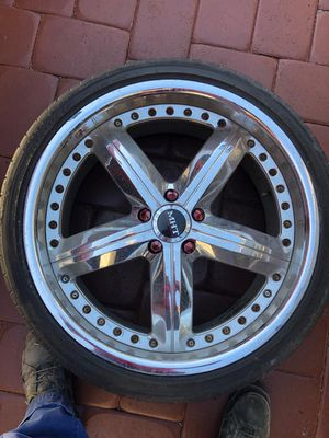 20 inch wheels for Honda Toyota Acura with brand new tires for Sale in Princeton, FL