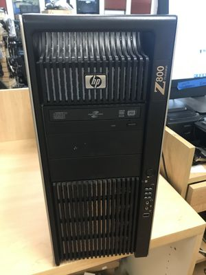 HP Z800 Workstation Xeon 6-Core 2.40GHz E5645 and ATI FirePRO V9800 4GB - BEAST! for Sale in Seattle, WA