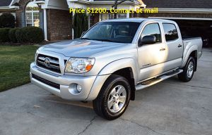 Toyota Tacoma! $$REDUCED$$ =PRICE= (1200$$ OBO)=2005 for Sale in Long Beach, CA