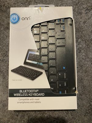 Bluetooth keyboard for Sale in Colonie, NY