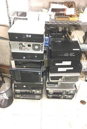 Desktop computer lot good condition for Sale in Miami, FL
