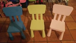 3 kid chairs for Sale in Austin, TX