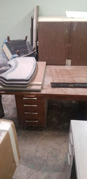 big desk vintage for Sale in Pico Rivera, CA