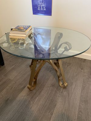 Glass coffee table for Sale in Los Angeles, CA