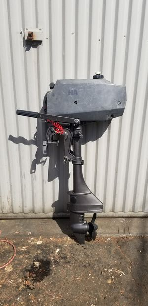 !!!RUNS GREAT!!! 3.5 hp Outboard boat motor for Sale in Huntington Beach, CA