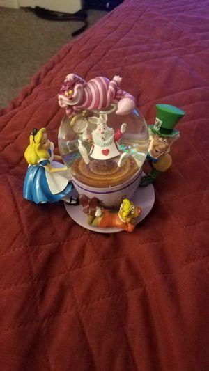 Alice in wonderland spinning Snowglobe (broken) :/ for Sale in Clovis, CA