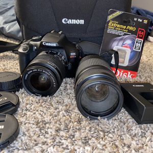 canon camera and lens for Sale in Oklahoma City, OK