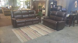 Brand new Power Sofa and Loveseat. Adjustable headrest, lumbar and recliner. Starting @ for Sale in Portland, OR